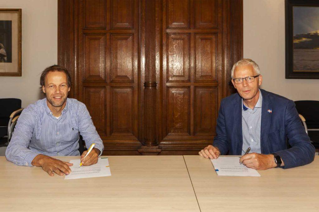 Gemeente Loppersum en Avitec N.V. tekenen bouwteam-overeenkomst herinrichting Loppersum Noord